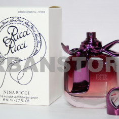 Parfum Tester Nina Ricci Ricci Ricci + LIVRARE GRATUITA! - Parfum femeie Nina Ricci, Apa de parfum, 80 ml, Floral