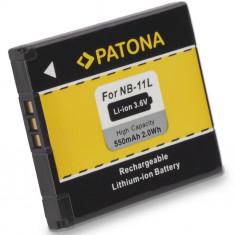 1 PATONA | Acumulator compatibil Canon NB-11L NB11L NB 11L - Baterie Aparat foto PATONA, Dedicat
