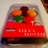 Hub USB MANHATTAN USB Hub 2.0, 4 porturi