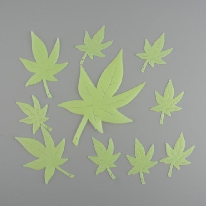 Ornament fluorescent tavan - model ganja, frunza marijuana