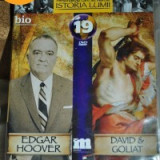 EDGAR HOOVER/DAVID &GOLIAT DVD 89 minute, nr 19