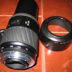 obiectiv Minolta/Sony 70-210 mm  f:4,5-5,6 - montura metalica