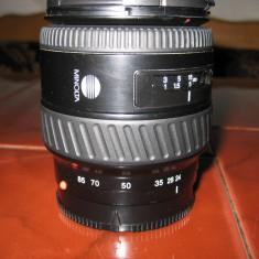Obiectiv  Minolta /Sony   AF 24 - 85 mm  1:3,5-4,5