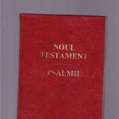 NOUL TESTAMENT - Biblia