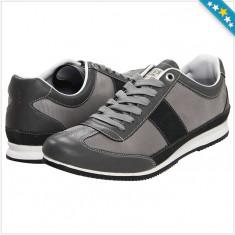 Adidas GUESS Gable 2 - Adidas Barbati - 100% AUTENTIC - Adidasi barbati Guess, Marime: 43, Culoare: Negru, Piele naturala
