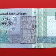 EGIPT - 5 Pounds 2008 - UNC - bancnota africa