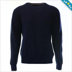 Bluza TOMMY HILFIGER - Pulover, Bluze Barbati - 100% AUTENTIC - Bluza barbati Tommy Hilfiger, Marime: XXL, Culoare: Bleumarin, Bumbac