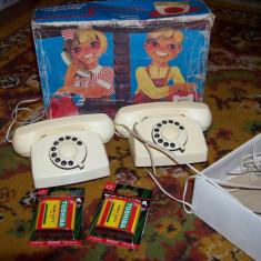 Jucarie set telefoane rusesti din perioada comunista
