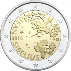 Finlanda moneda 2 euro comemorativa 2015, UNC
