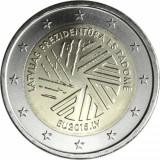 LETONIA moneda 2 euro comemorativ 2015, UNC, Europa, Cupru-Nichel