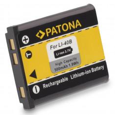 PATONA | Acumulator pt OLYMPUS Li40B Li42B Li 40B Li 42B NIKON EN-EL10 ENEL10 - Baterie Aparat foto PATONA, Dedicat