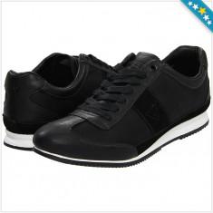 Adidas GUESS Gable 2 - Adidasi Barbati - 100% AUTENTIC, Marime: 43, Culoare: Negru, Piele naturala