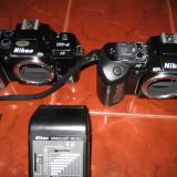 Nikon F401 si F401s aparate foto film - Aparat Foto cu Film Nikon, SLR, Mediu