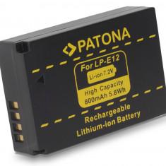 PATONA | Acumulator compatibil Canon LPE12 LP E12 LP-E12 | decodat