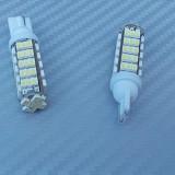 Bec pozitie 68 led SMD lumina alba pret/set. - Led auto, Universal