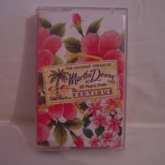 Vand caseta audio Martin Denny-The Coconut Cream Of, originala, raritate! - Muzica Pop emi records, Casete audio