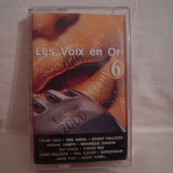 Vand caseta audio Les  Voix En Or 6,originala,raritate!