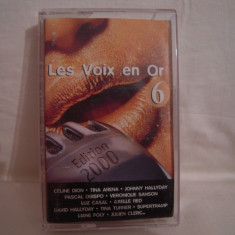 Vand caseta audio Les Voix En Or 6, originala, raritate! - Muzica Pop sony music, Casete audio
