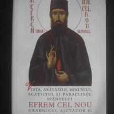SFANTUL CUVIOS SI MARE MUCENIC EFREM CEL NOU - Carti ortodoxe