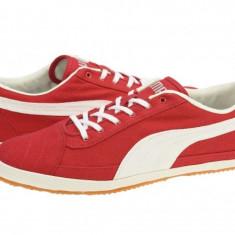 TENISI PUMA RED S PRO CNVS - Tenisi barbati Puma, Marime: 40, 41, 42, 43, 44, 45, 46, Culoare: Rosu, Textil
