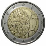 Finlanda moneda 2 euro comemorativ 2010, UNC, Europa, Cupru-Nichel