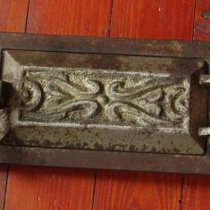 Usa mica pentru teracota - usa pentru jar - model vechi !!! - Metal/Fonta