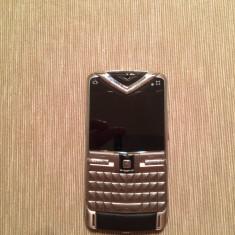 Vertu Constellation Quest - Telefon mobil Vertu, Argintiu, Neblocat, Nu se aplica, Fara camera, Tastatura qwerty: 1