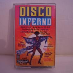 Vand caseta audio Disco Inferno, originala, raritate! - Muzica Pop Altele, Casete audio