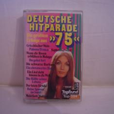 Vand caseta audio Deutsche Hitparade'75, originala, raritate! - Muzica Pop Altele, Casete audio