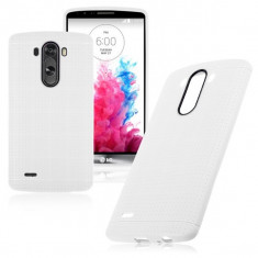 Carcasa de protectie soft TPU pentru LG Optimus G3 - husa acopera toate marginile, nu aluneca din mana - culoare: ALB