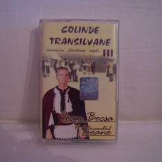 Vand caseta audio Ioan Bocsa-Colinde Transilvane III, originala, raritate! - Muzica Sarbatori, Casete audio
