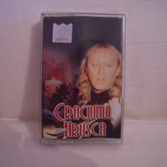 Vand caseta audio Craciunul cu Hrusca, originala, raritate! - Muzica Sarbatori, Casete audio