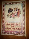 """Carte pt copii   """" calutul de ciocolata """" 1989"""