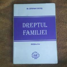 DREPTUL FAMILIEI EDITIA A II A - STEFAN COCOS - Carte Dreptul familiei
