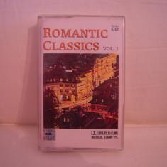 Vand caseta audio Romantic Classics-vol 1, originala, raritate! - Muzica Clasica Altele, Casete audio