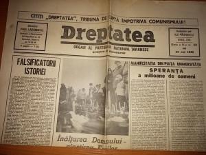 Ziarul dreptatea 24 mai 1990   Okazii.ro