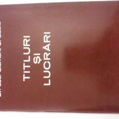 CLEMENT C. BACIU- TITLURI SI LUCRARI