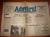 Ziarul adevarul 31 ianuarie 1990