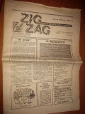 ziarul zig-zag anul 1 nr. 5 martie 1990