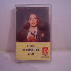 Vand caseta audio Disco Romance'80-vol 2, originala, raritate! - Muzica Pop Altele, Casete audio