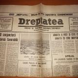 Ziarul dreptatea 14 februarie 1990