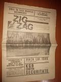 ziarul zig-zag  aprilie 1990