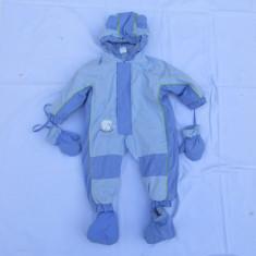 POLAR FUN - SALOPETA INTREAGA PT. COPII, GROASA, NR. 74 / 80 CM, STARE BUNA, GERMANIA, Culoare: Bleu, Unisex