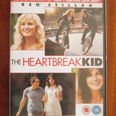 THE HEARTBREAK KID - film COMEDIE 1 DVD - cu Ben STILLER (IMPECABIL!!!), Engleza