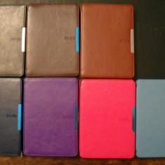 Husa Kindle Paperwhite Piele | cu MANER /Magnet/Smart/Snap-in|+6254carti