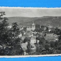 Carte postala VECHE SIGHISOARA 1937 INTERBELICA. NECIRCULATA. judetul mures (v017 - Carte Postala Transilvania dupa 1918