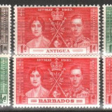 Anglia / Colonii, 1937 - Incoronarea George al VI-lea - seria Omnibus, nestampilate, MNH