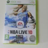 JOC NBA LIVE 10 - xbox 360 - original PAL - Jocuri Xbox 360, Sporturi, 3+