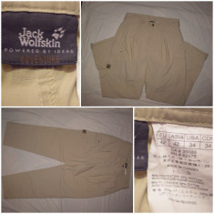 Pantaloni Jack Wolfskin barbati munte treking hiking outdoor drumetie tura