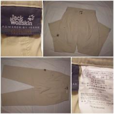 Pantaloni Jack Wolfskin barbati munte treking hiking outdoor drumetie tura - Pantaloni barbati, Marime: 42, Culoare: Din imagine